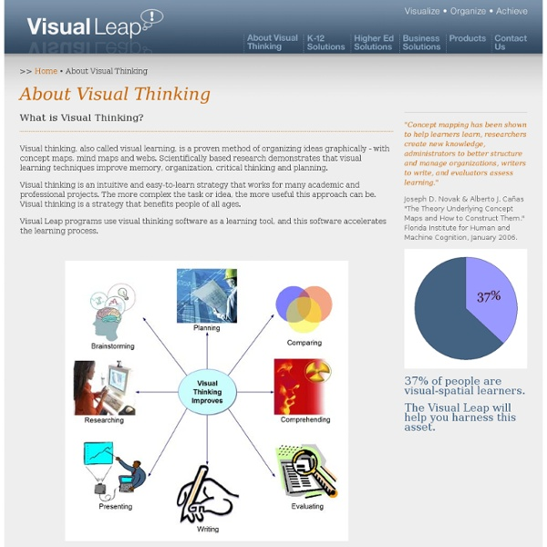 The Visual Leap - About Visual Thinking