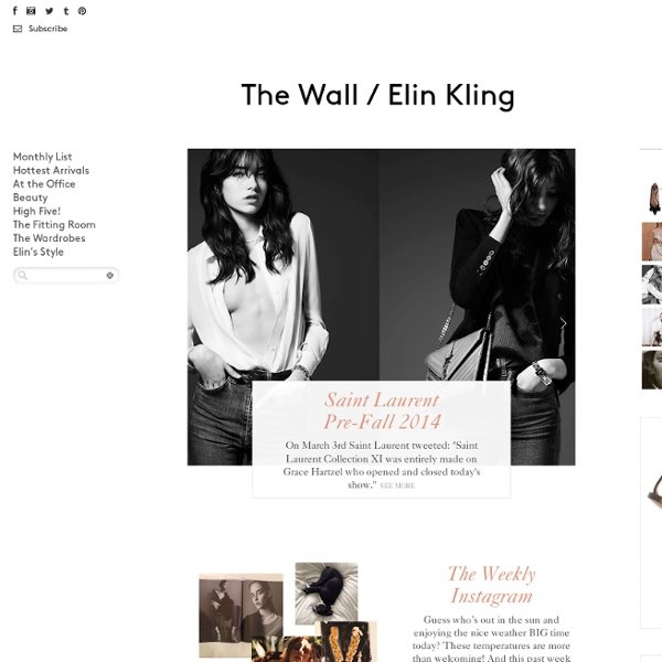 Elin Kling The Wall