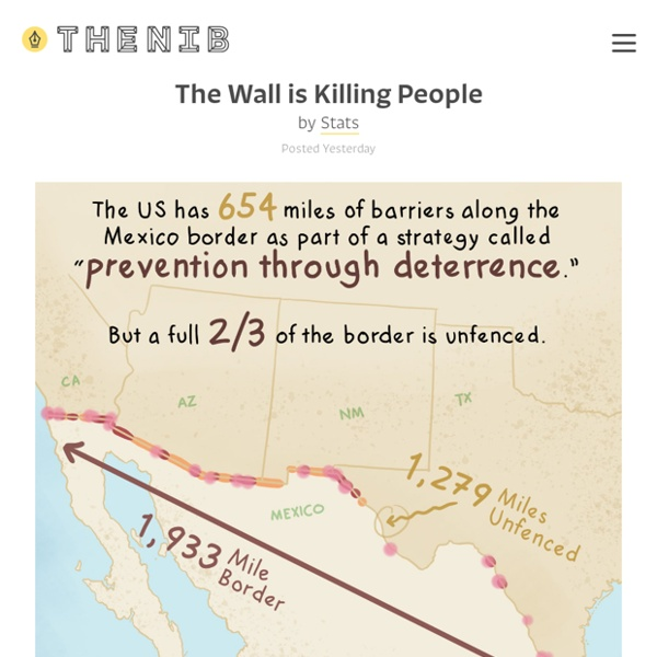 The Wall is Killing People - by Stats