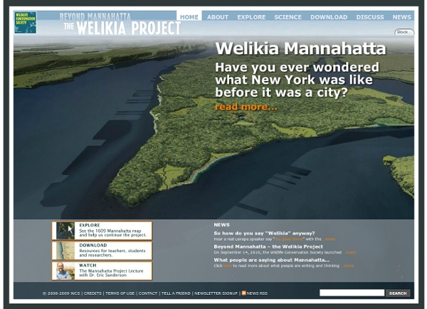 The Welikia Project