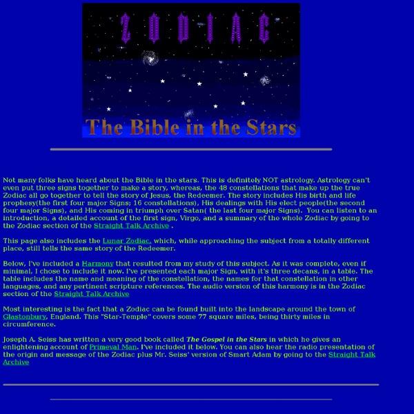 The Zodiac-Bible In The Stars