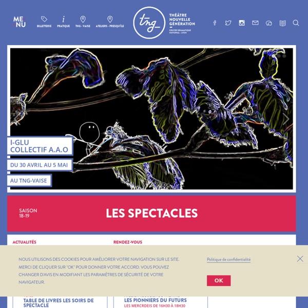 Théâtre Nouvelle Génération - Lyon
