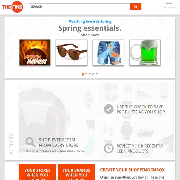 TheFind.com - Shopping Search Reinvented - What can we find for you?