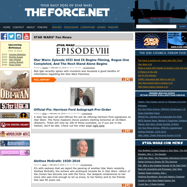 TheForce.net: Home Page