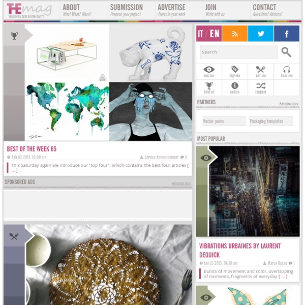 TheMAG: your daily dose of creativity
