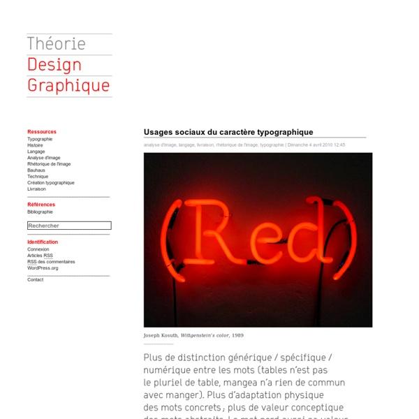 Théorie Design Graphique