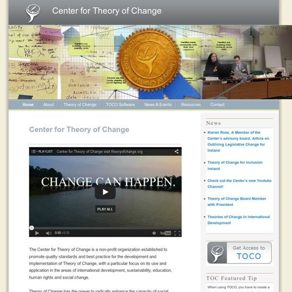 Theory of Change Community