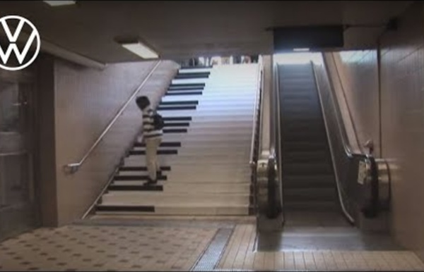The Fun Theory 1 - Piano Staircase
