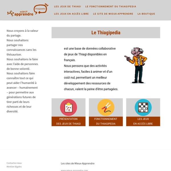 Pedia - Thiagi.fr