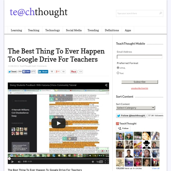 The Best Thing To Ever Happen To Google Drive For Teachers