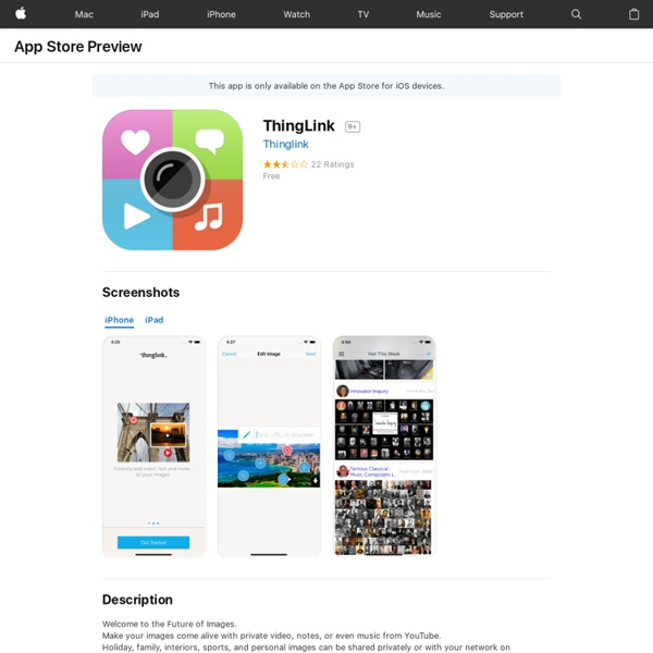 ThingLink on the App Store
