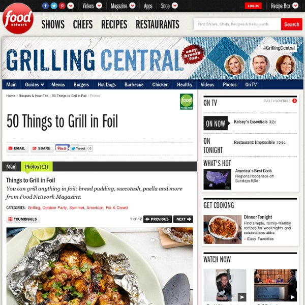 Things to Grill in Foil