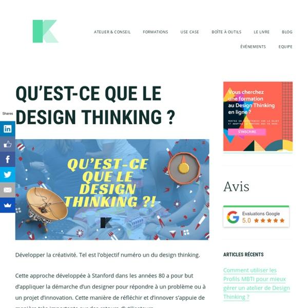 Qu'est-ce que le Design Thinking ? Définition et objectifs de la méthode