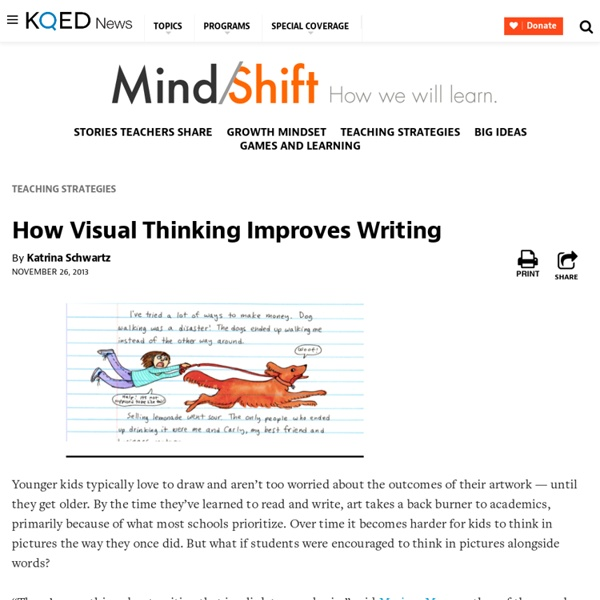 How Visual Thinking Improves Writing