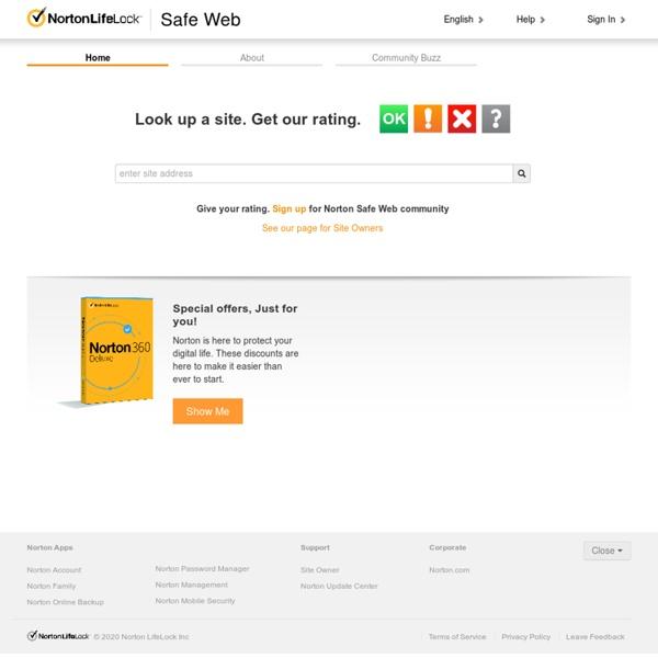 Norton Safe Web, de Symantec