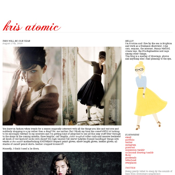 This will be our year « Kris Atomic