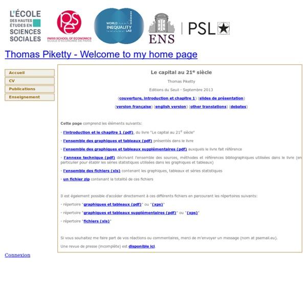 Thomas Piketty - capital21c