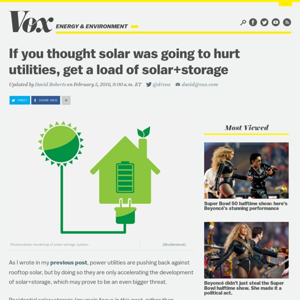 If you thought solar was going to hurt utilities, get a load of solar+storage