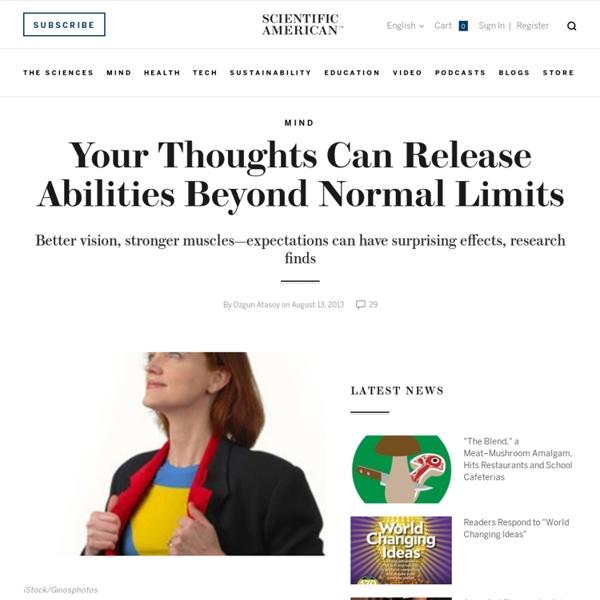Thanks Megan - cognitive psychology