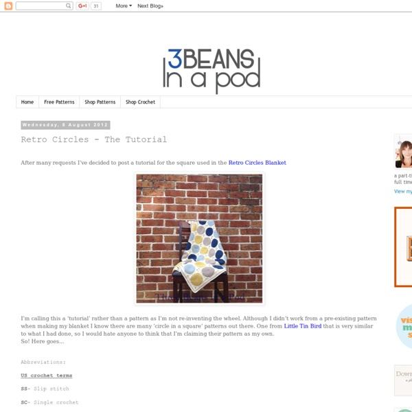 Three Beans in a Pod: Retro Circles - The Tutorial