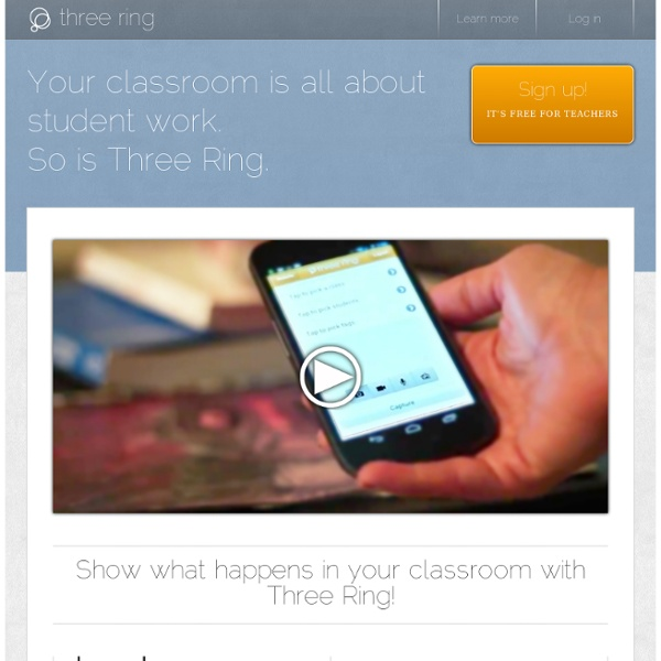 An App for Teachers to Create Educational Portfolios of Student Work with an iPhone, iPad, or Android Smartphone