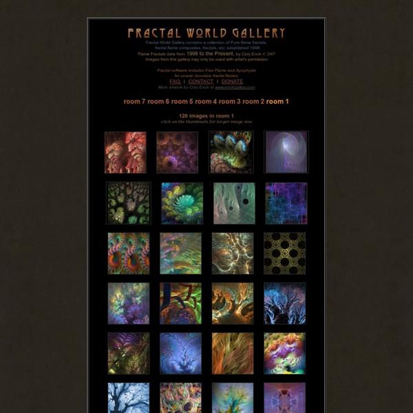 Fractal World Gallery Thumbnails : cosmic recursive fractal flames or flame fractals