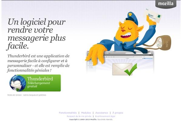 Thunderbird - Un logiciel pour rendre votre messagerie plus facile