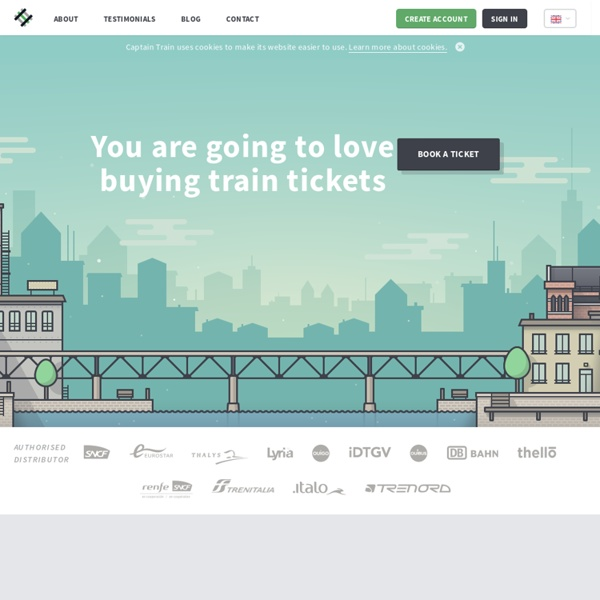 Book and buy train tickets in France and Germany - Capitaine Train