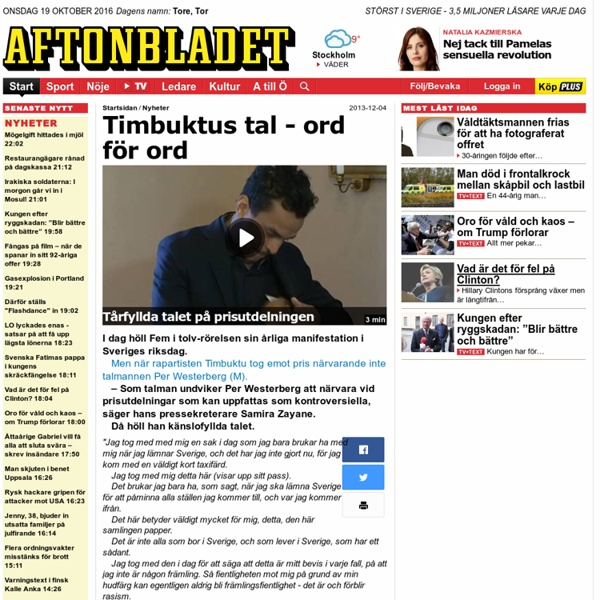 Timbuktus tal - ord för ord