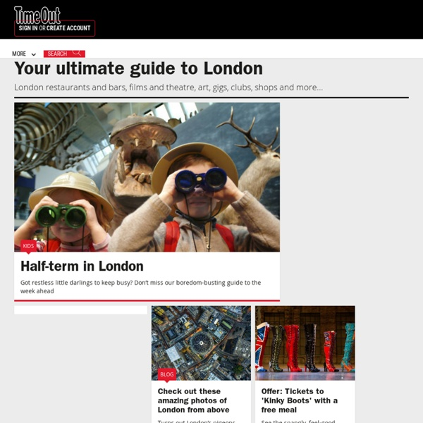 Activities, Attractions & What's on in London