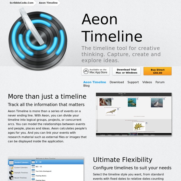 aeon timeline the timeline tool for creative thinking pearltrees