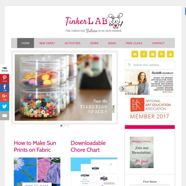 TinkerLab - Creativity for Kids