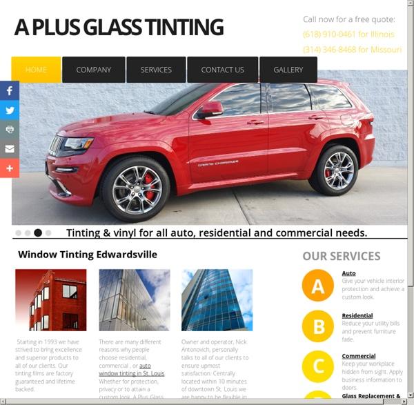 Car Window Tinting Maryville