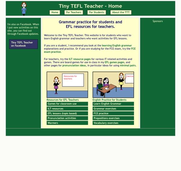 Tiny TEFL Teacher Home