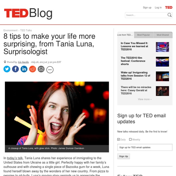"""8 tips to make your life more surprising — from a """"Surprisologist"""""""