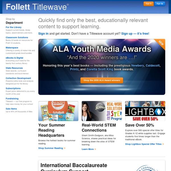 Follett School Solutions: TITLEWAVE
