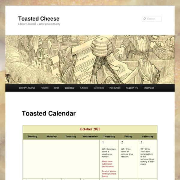 Toasted Calendar