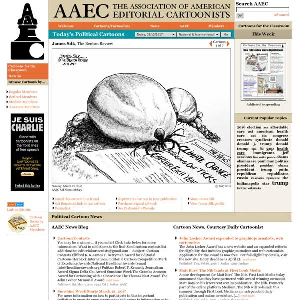 AAEC - Today's Political Cartoons