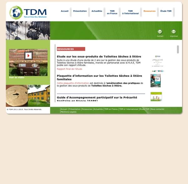 Documentation technique sur l'assainissement écologique et l'assainissement durable
