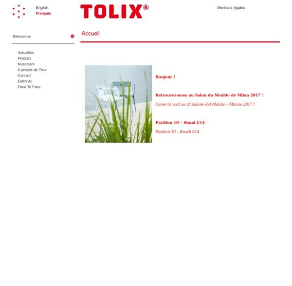 Tolix — Accueil