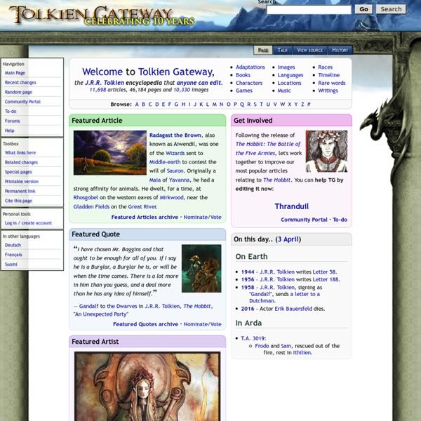 Tolkien Gateway