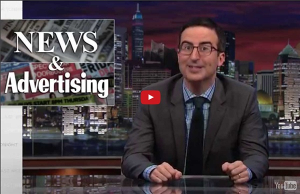 Last Week Tonight with John Oliver: Native Advertising (HBO)