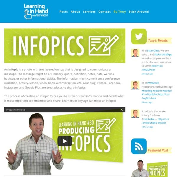 Tony's Infopics