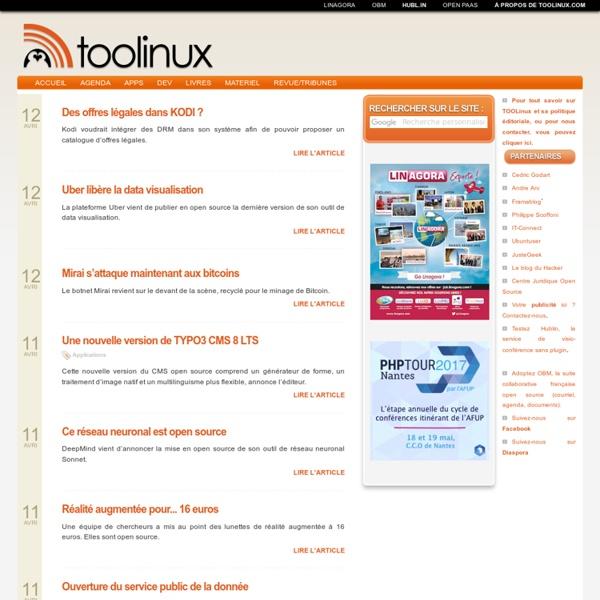 Toolinux, le journal du Libre