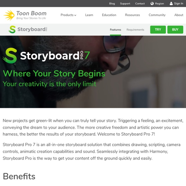 Professional Storyboard Software