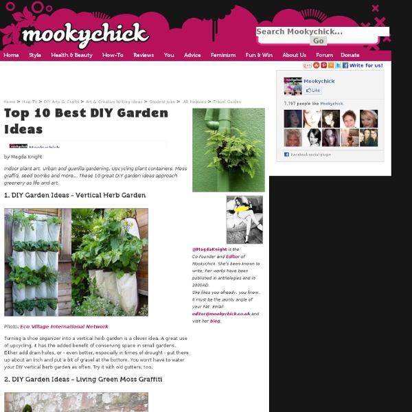 Top 10 Best DIY Garden Ideas