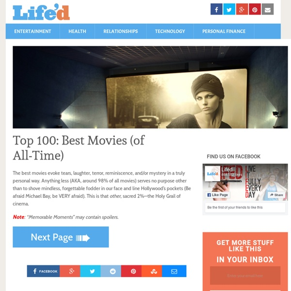 Top 100 best movies of all time pearltrees