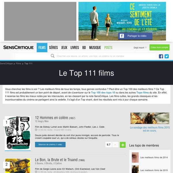 Top 111 films