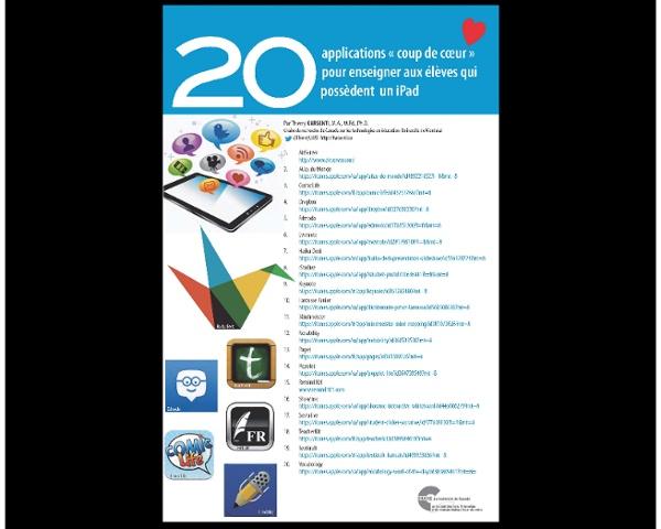 20 applications coup de coeur