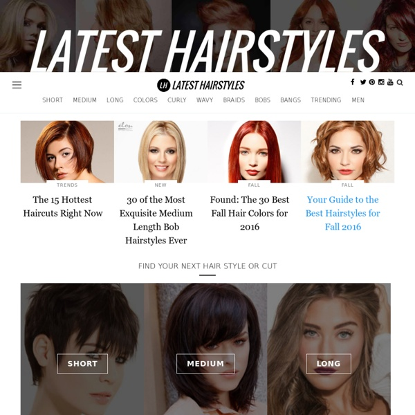 Super Cute Hairstyles, Haircuts and Colors at Latest-Hairstyles.com